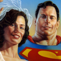 LOIS LANE AND SUPERMAN | DC / UPPERDECK